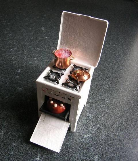 gazinière miniature